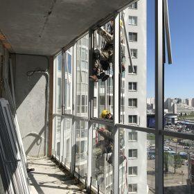 демонтаж балконов фото