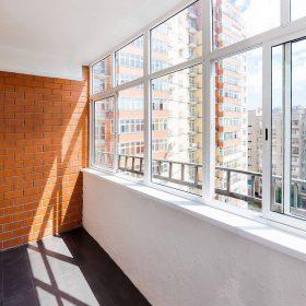 остекление балкона фото