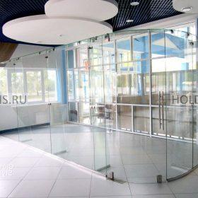 остекление торговых центро вфото