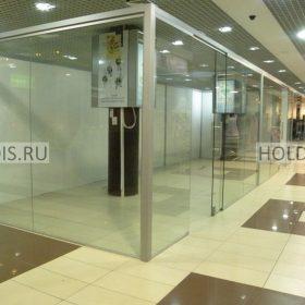 стеклянные перегородки для магазинов