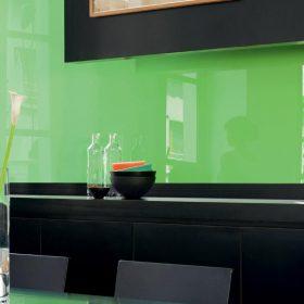 стеклянные стеновые панели фото